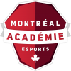 Académie Esports de Montréal Logo